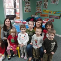Children in childcare